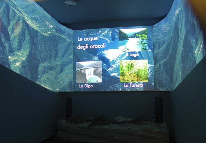 Image of visitor centre installation